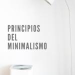 Principios del diseño Minimalista